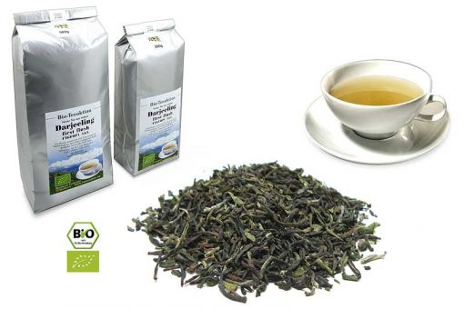 Darjeeling first flush kbA. FTGFOP1 Bio-Teeaktion 200g