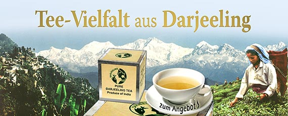 Probiersortiment Darjeeling first flush FLUGTEE-2013