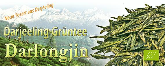 Darjeeling Grüntee kbA. Chongtong Darlongjin